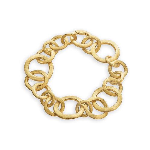 18 Karat Yellow Gold Jaipur Link Marco Bicego Bracelet