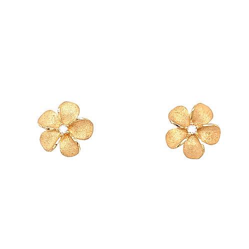 Denny Wong Plumeria Earrings