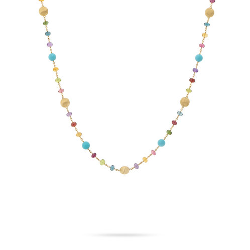18 Karat Yellow Gold Africa Marco Bicego Necklace