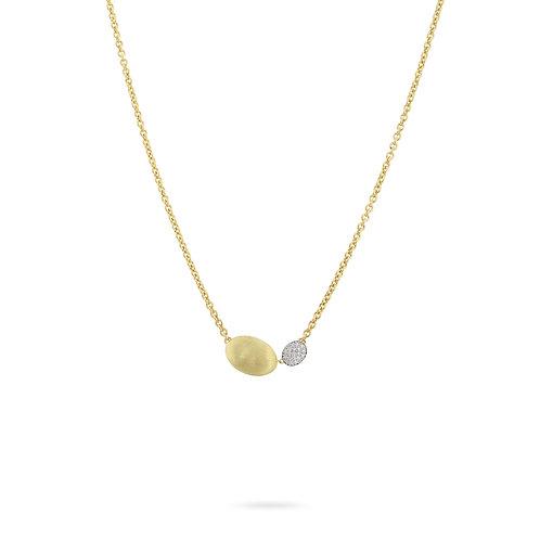 18 Karat Yellow and White Gold Siviglia Marco Bicego Necklace