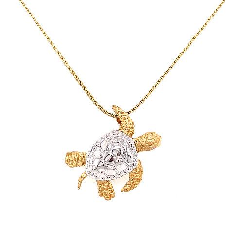 Denny Wong Turtle Pendant