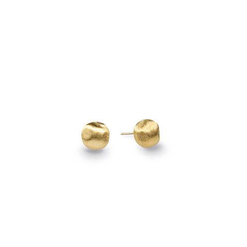 18 Karat Yellow Gold Africa Marco Bicego Stud Earrings