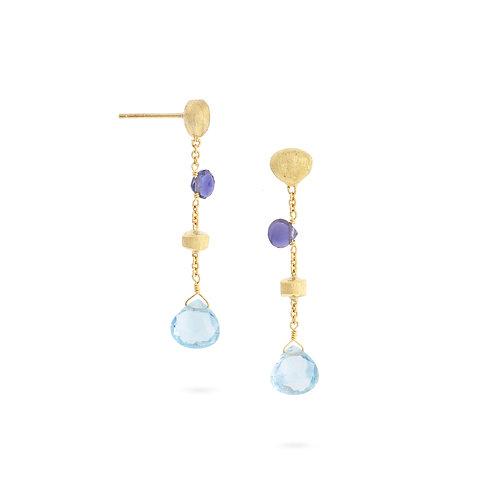 18 Karat Yellow Gold Paradise Marco Bicego Earrings