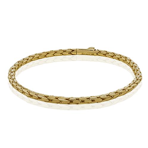 14 Karat Yellow Gold Simon G Bracelet