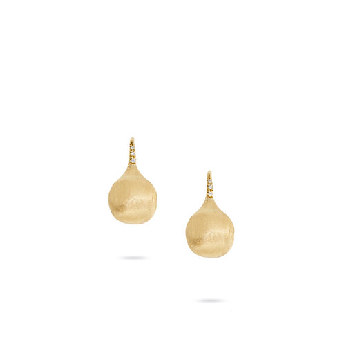 18 Karat Yellow Gold Africa Marco Bicego Earrings