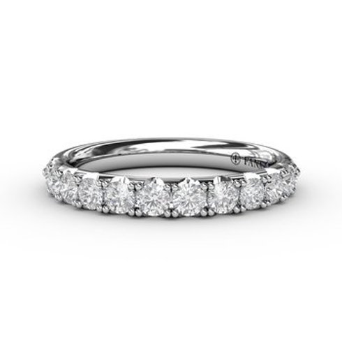 14 Karat White Gold .66 Carat Diamond Fana Ring