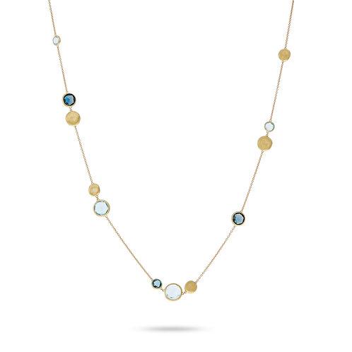 18 Karat Yellow Gold Jaipur Marco Bicego Necklace