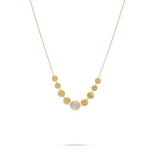 18 Karat Yellow and White Gold Jaipur Marco Bicego Necklace
