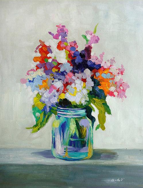 jardin painting