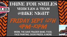 JOIN DRIVE FOR SMILES AT POWDER KEG BIKE NIGHT