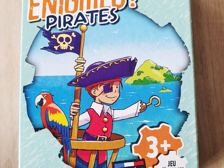 """[ JEU D'ÉNIGMES ] """"Mes premières énigmes ! Pirates"""" de Bioviva"""