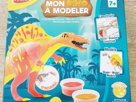 """[ LOISIRS  CRÉATIFS ] """"Mon Dino à modeler"""" de Joustra"""