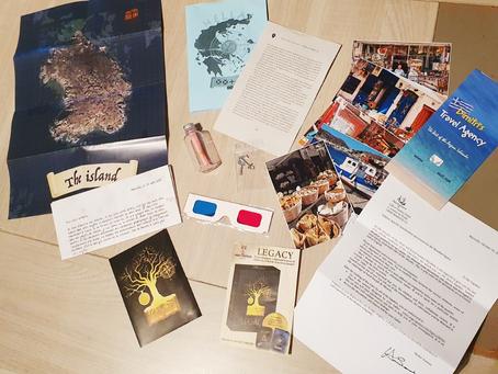 """[ JEU D'ÉNIGME ] Argyx Games : """"Legacy"""""""