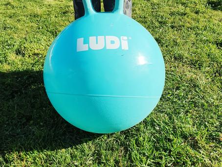 [ PLEIN AIR ] Ballon sauteur Ludi