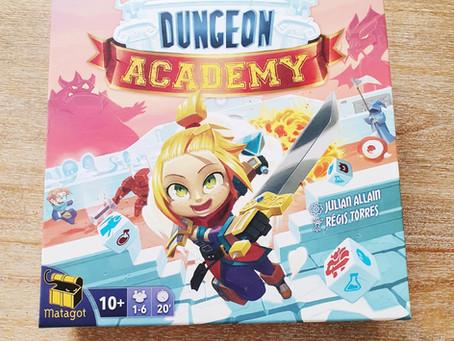 [ ROLL & WRITE ] Dungeon Academy