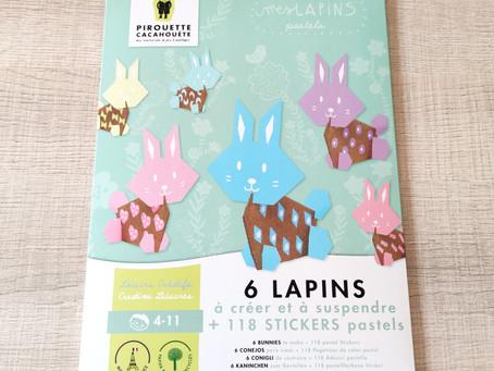 [ LOISIRS CRÉATIFS ] Pirouette Cacahouète - Mes Lapins Pastels