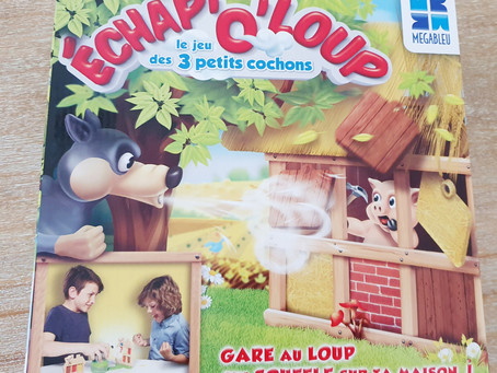[ JEU DE SOCIÉTÉ ] Echap'o'Loup - Le jeu des 3 petits cochons