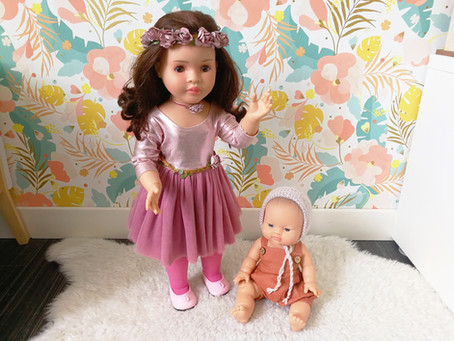 [ JEU D'IMITATION ] Les poupées Paola Reina
