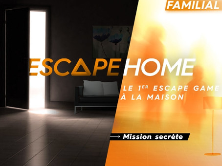 [ JEU D'ÉNIGMES ] Escape Home – Mission Secrète