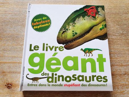 """[ LECTURE ] """"Le Livre Géant Des Dinosaures"""""""