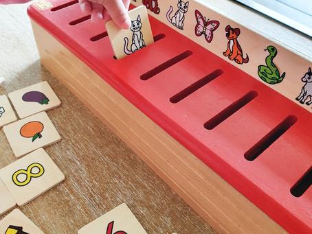 [ JEU ÉDUCATIF ] Boîte de tri système Montessori