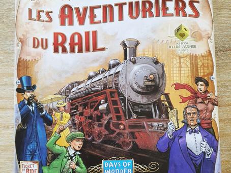 [ JEU DE SOCIÉTÉ ] Les Aventuriers du Rail – Days of Wonder