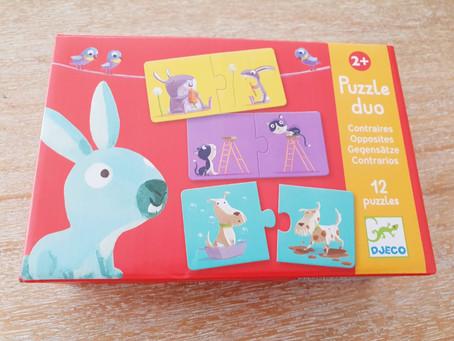 """[ PUZZLE ] """"Puzzle Duo"""" de Djeco"""