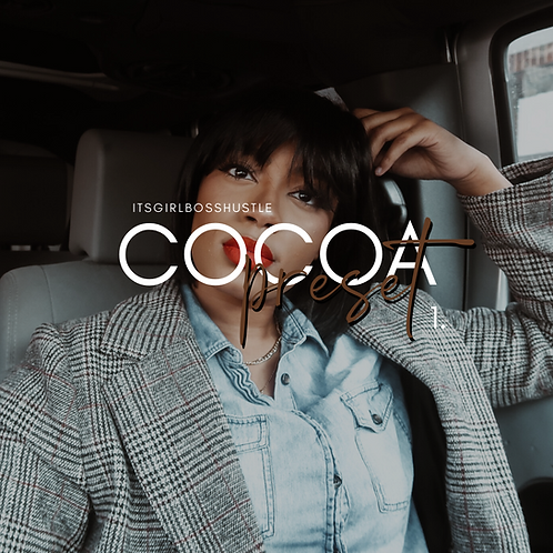 COCOA PRESET PACK