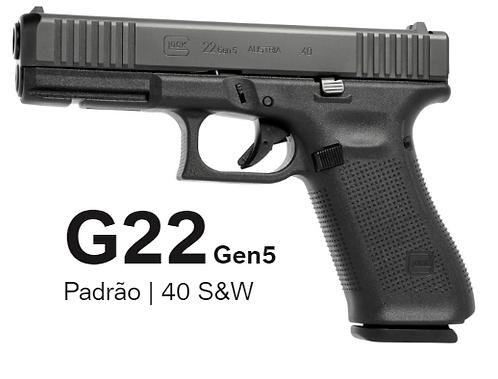Pistola Glock G22 GEN5 .40S&W