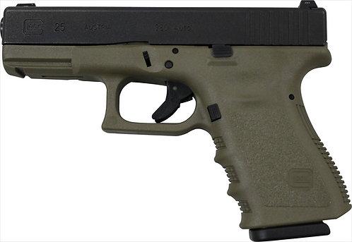 Pistola Glock G25 OD Verde .380ACP 15+1tiros
