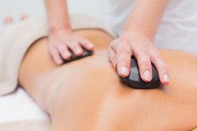 Hot Stone Body massage 100min