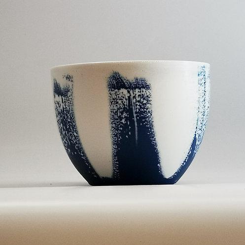 "bol porcelaine ""Bleu nuit"""