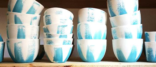 Bol porcelaine Bleu Azur