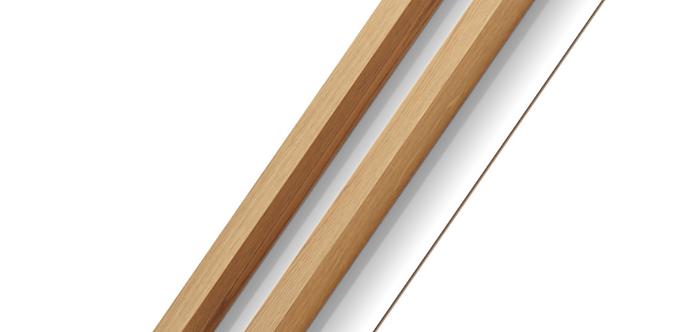 Wood Oak Wall Panels | 2 M