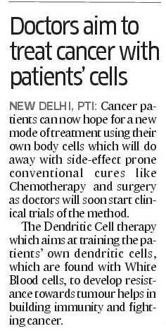 new cancer therapy news