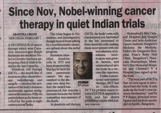 novel cancer immunotherapy news