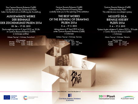 The best works of the Biennial of Drawing Pilsen 2014