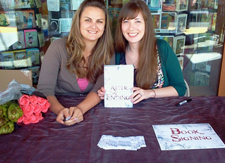 #TBT - The beginning of Team Lindsey, our first signing, and our epic book journey together