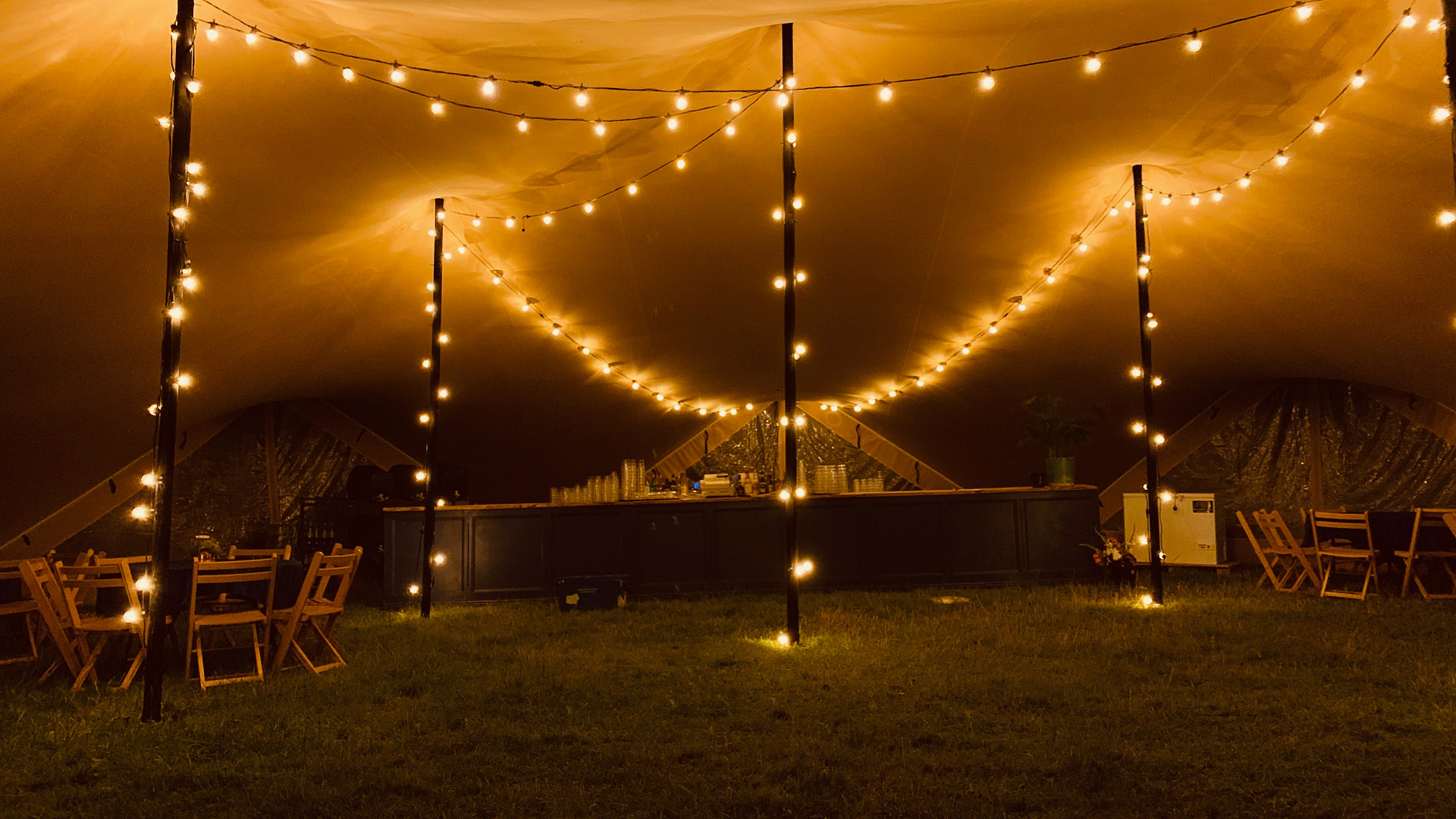 Stretch Tent Lighting