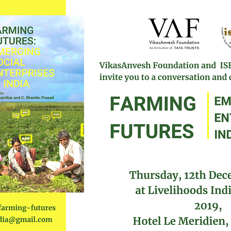 Conversations and Discussions on Farming Futures at Livelihoods India Summit 2019