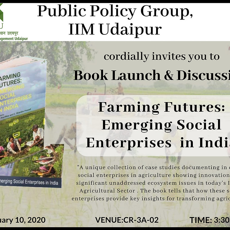Book Launch and Discussion around Farming Futures