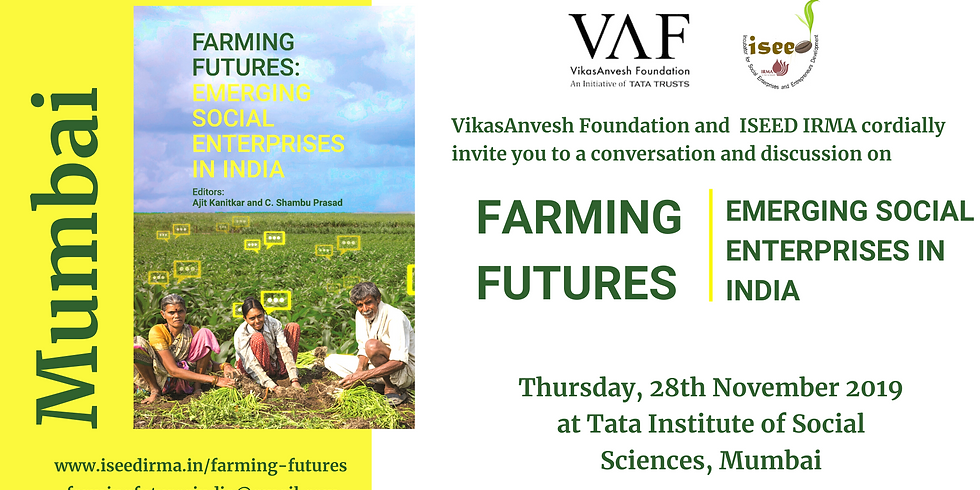 Conversation and Discussion on Farming Futures at TISS Mumbai