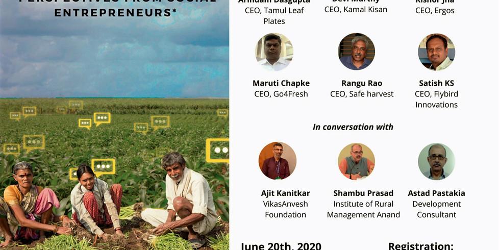 FARMING AS AN ENTERPRISE: Perspectives from Social Enterpreneurs