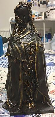 Skulptur av Klara Yvonne Klingspor