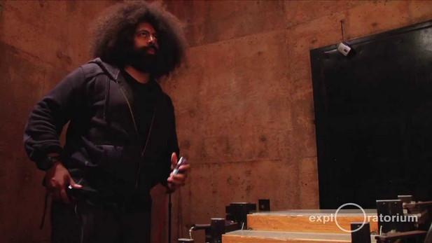 Reggie Watts in Sound Column