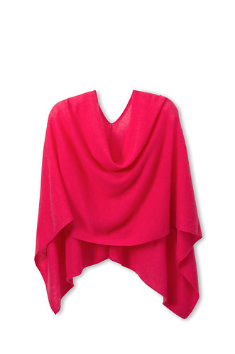 Hot Pink Poncho