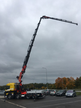 Scania + Palfinger PK 165.002