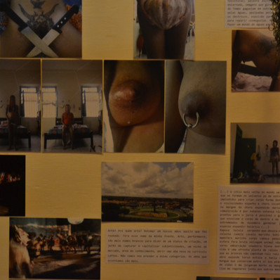 Detalhe da instalação - Foto: Dinho Araújo