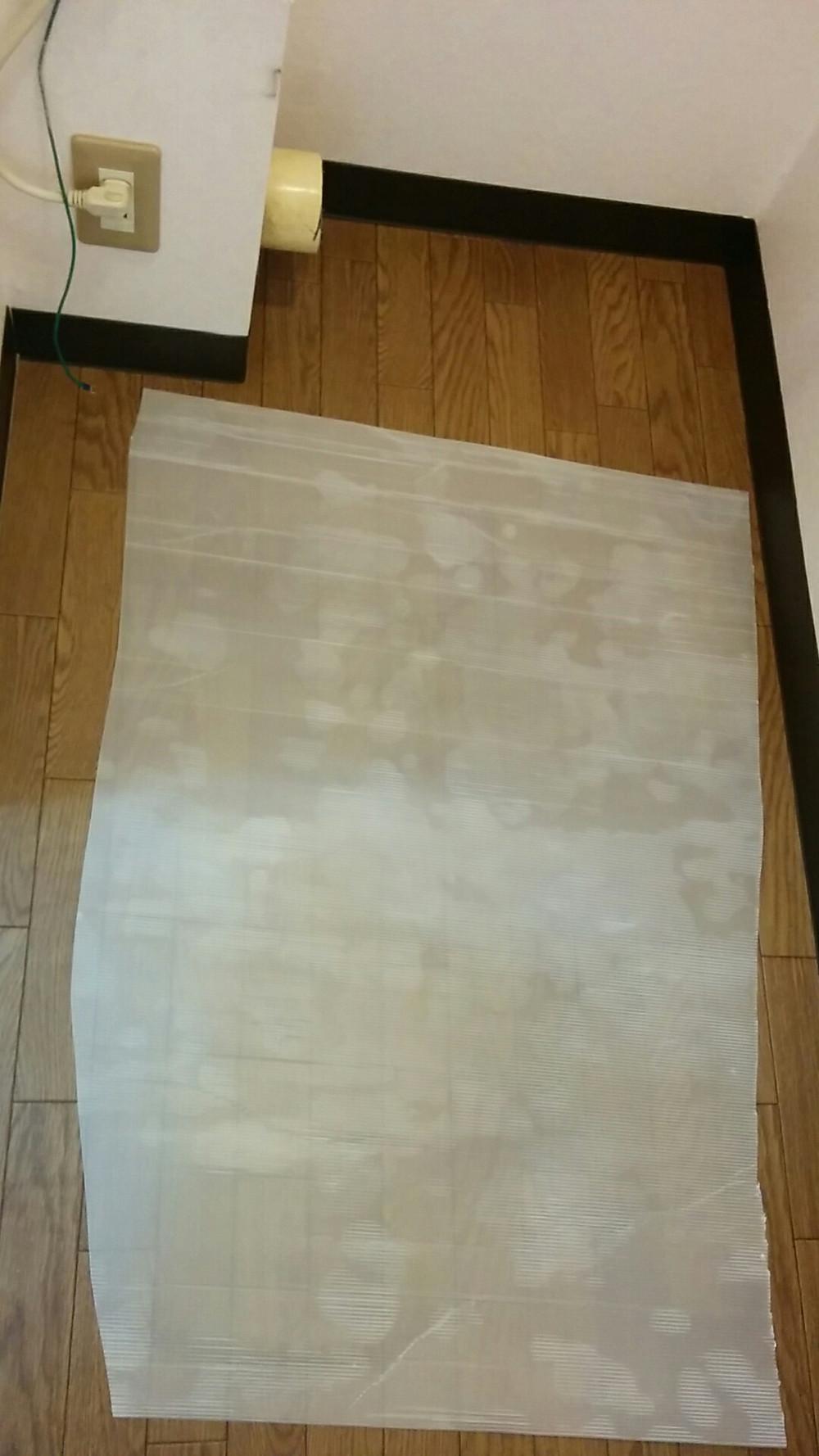トイレ内装 ソフト巾木 施工後