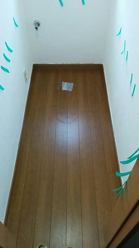 堺市O様邸 1F トイレ改装工事 撤去後